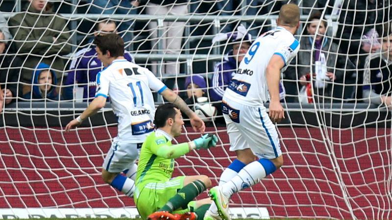 Gent eindigt naast Anderlecht