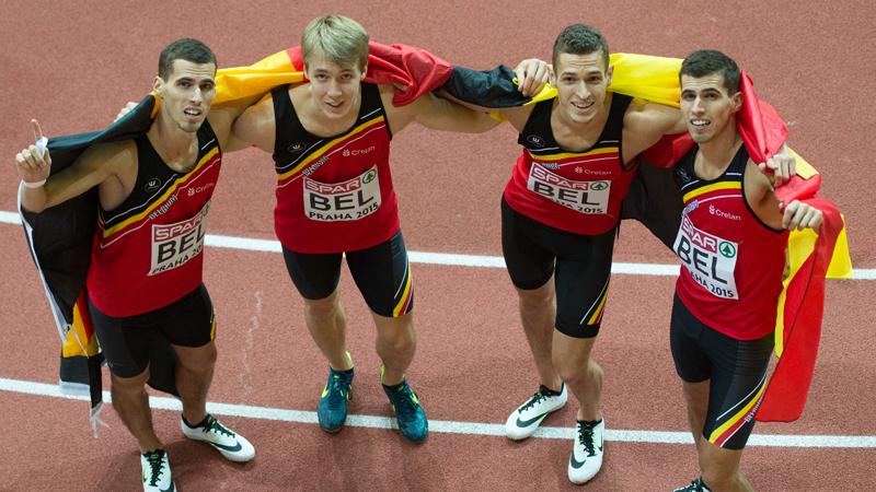Le relais messieurs du 4x400m champion d'Europe ! (VIDEO)
