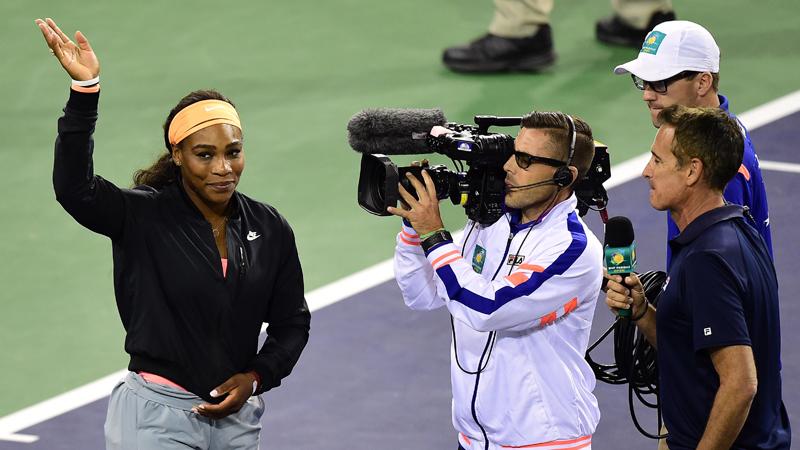 Serena Williams geeft forfait voor halve finales (VIDEO)
