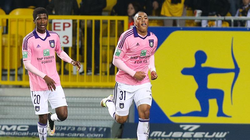 Anderlecht steelt punten in Lokeren