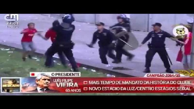 Emoi au Portugal: le papa tabassé par les policiers