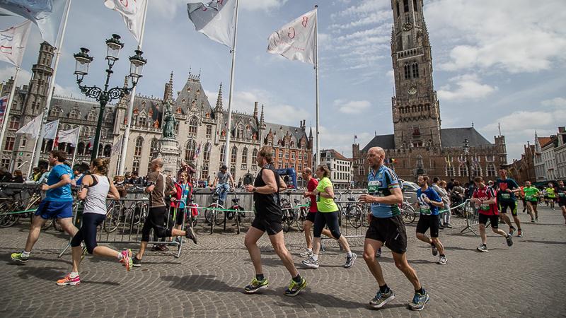 Geslaagde en zonnige editie van Dwars door Brugge