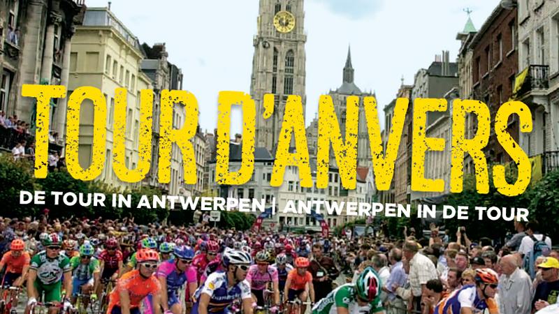 Voorstelling boek 'Tour d'Anvers' over de geschiedenis van de Tour in Antwerpen (VIDEO)