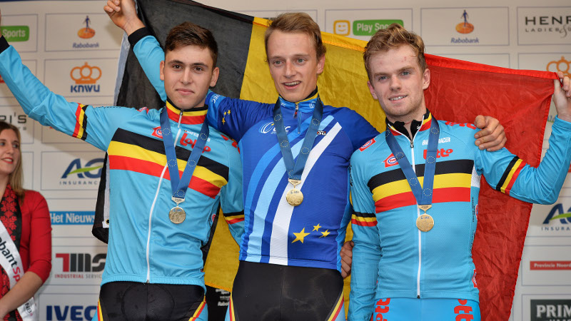 Hermans tops Belgian U23 podium