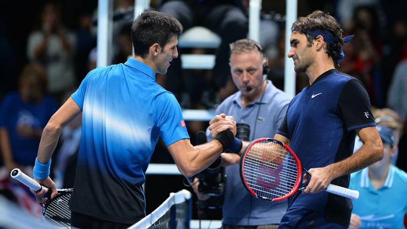 Federer maakt einde aan zegereeks Djokovic (VIDEO)