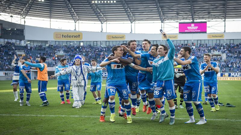 Kleurplaten Voetbal Gent.Jupiler Pro League