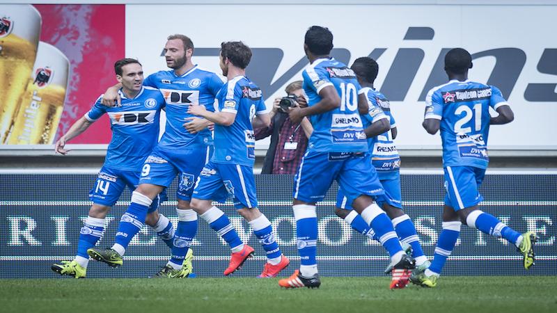 Kums leidt Gent met hattrick voorbij Club