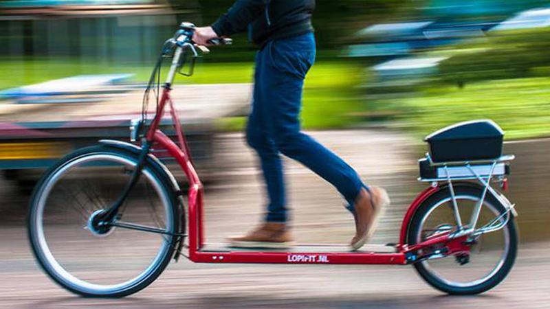 Nederlandse uitvinding: een loopband op een fiets!