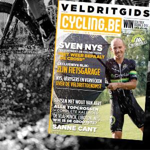 Veldritgids cycling.be magazine in de winkel!