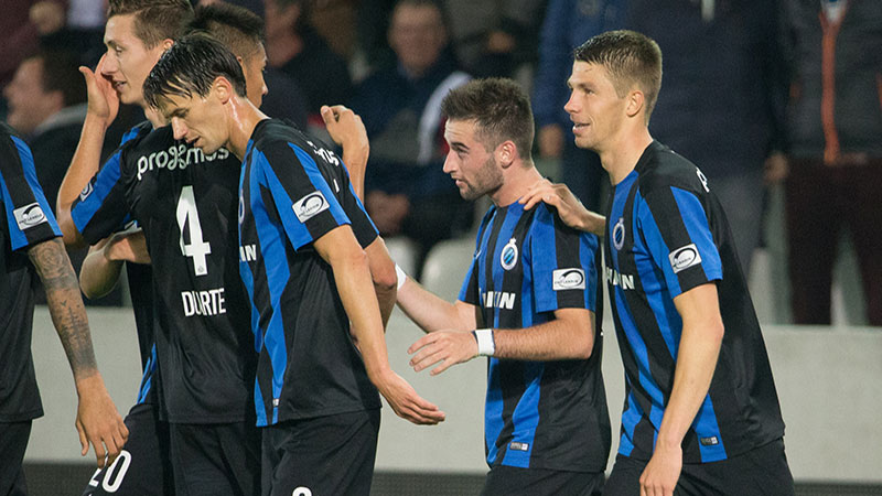 Club Brugge reageert met klinkende zege tegen Waasland-Beveren