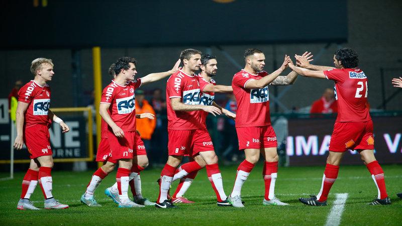 KV Kortrijk zet mak Racing Genk opzij