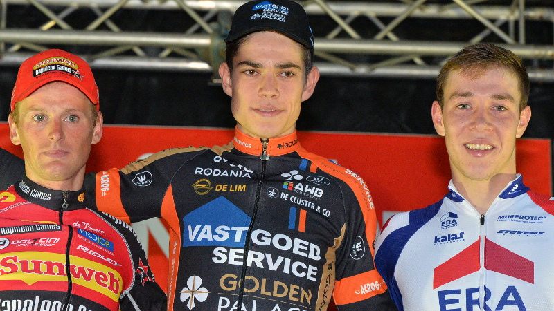 Van Aert: 'Gewerkt aan mijn techniek'