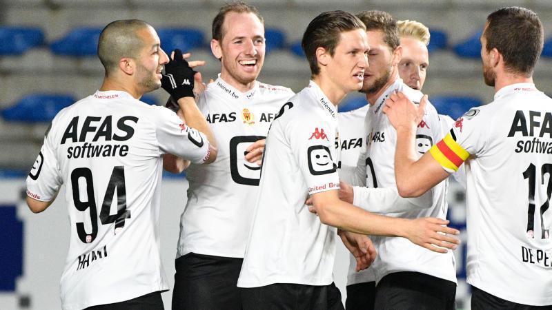 KV Mechelen begint Play-Offs met zuinige zege