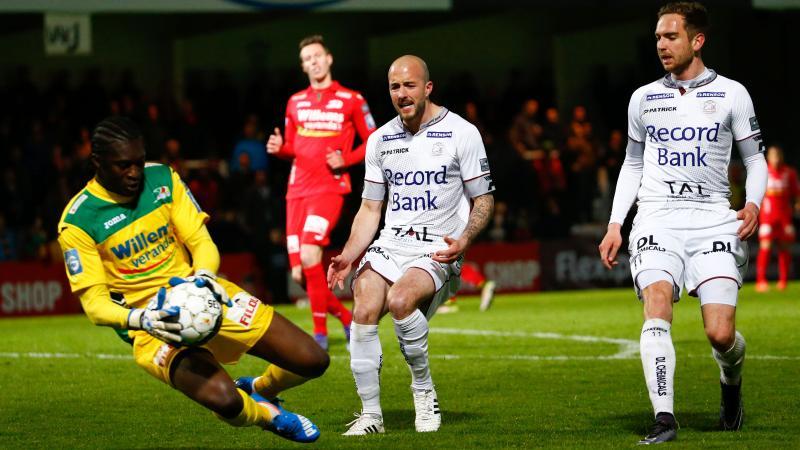 KV Oostende en Zulte Waregem spelen 3-3 gelijk na waar spektakelstuk