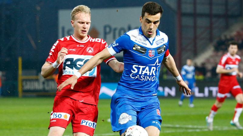KV Kortrijk en Moeskroen openen met gelijkspel