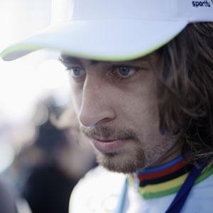 Peter Sagan: Regenboog kleurt de koers