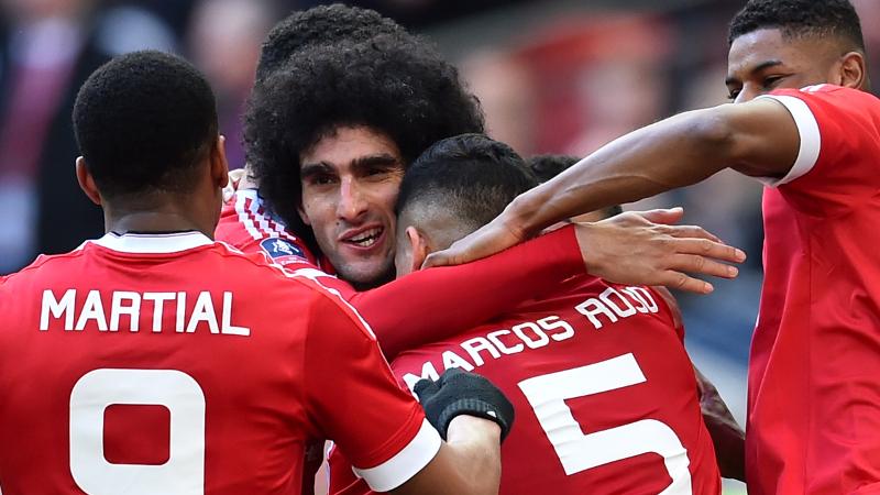 Fellaini held, Lukaku anti-held in FA Cup (VIDEO)