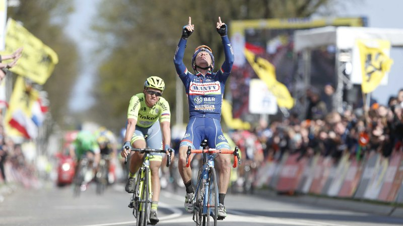 Gasparotto wint Amstel Gold Race (VIDEO)