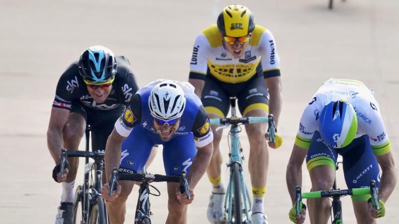 Hayman klopt Boonen in Roubaix (VIDEO)