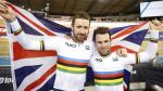 Wiggins et Cavendish ensemble aux Six Jours Lotto de Gand