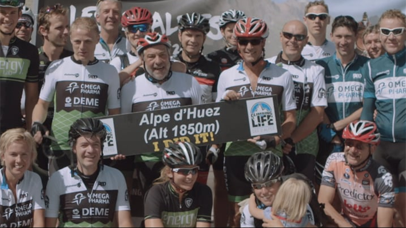 Climbing for Life Les 2 Alpes Aftermovie