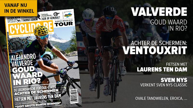 Augustusnummer cycling.be magazine nu in de winkel!