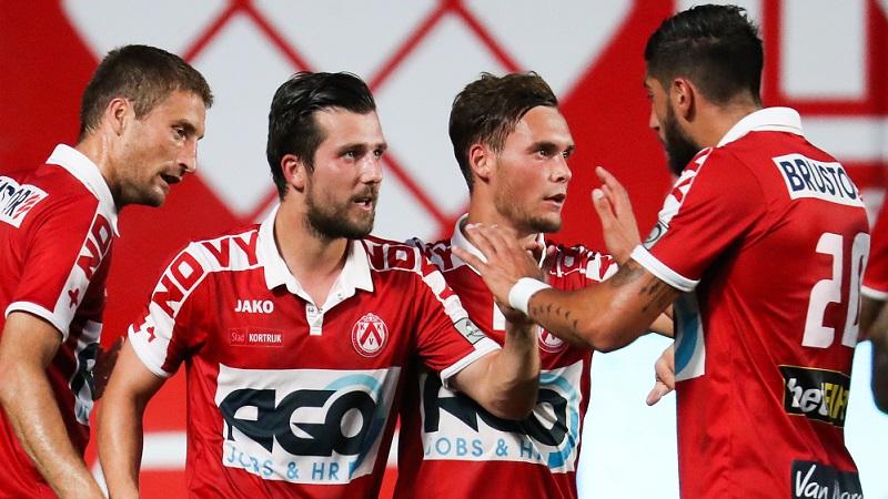 Kortrijk wint op het veld van STVV