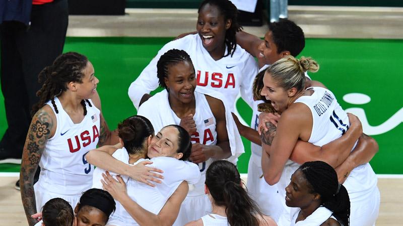 Basketball : 6e titre de suite aux Américaines (Rio 2016)