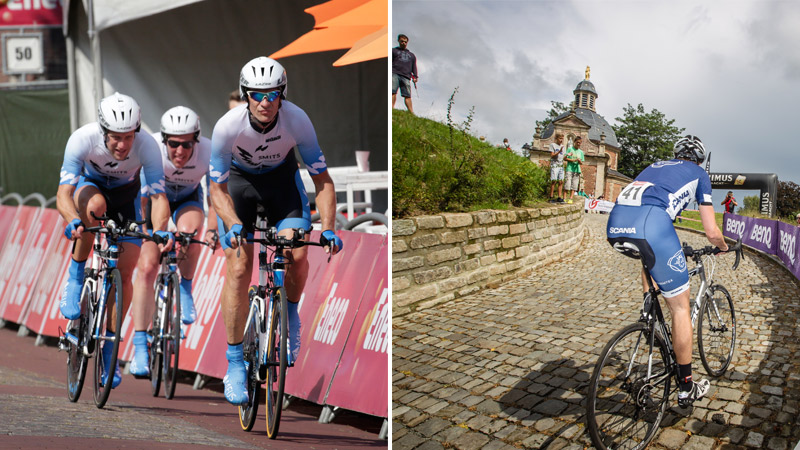 Rij zelf tegen de klok tijdens Eneco Tour in Breda of op de Muur