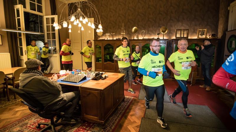 Nocturne Urban Trail in Mechelen: koud, maar sfeervol