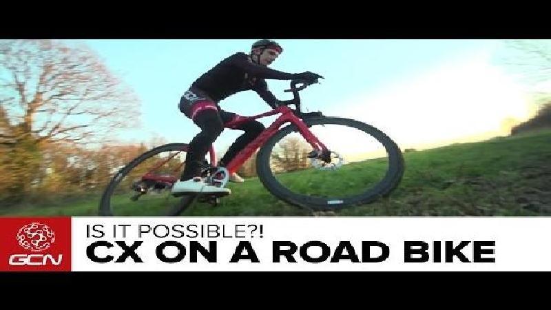 Kun je crossen op een moderne racefiets? (VIDEO)