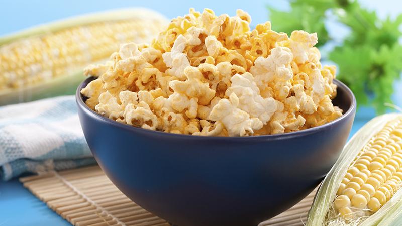 Popcorn: een verantwoorde loperssnack?