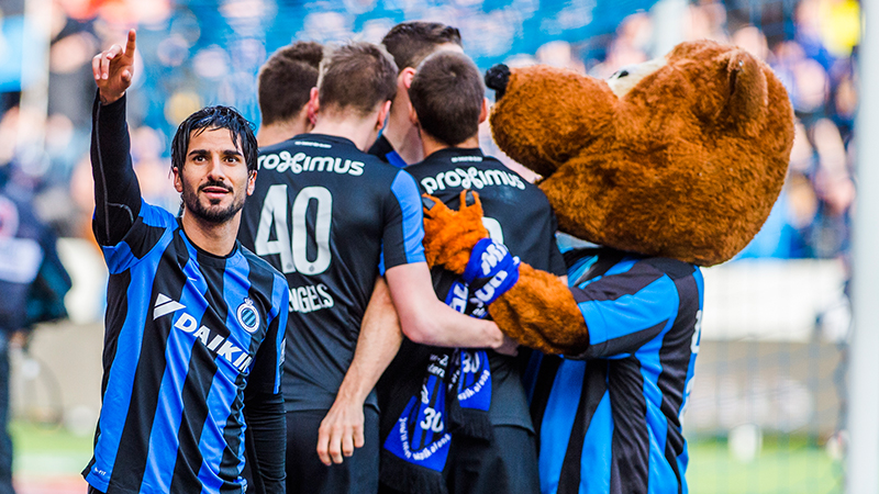 Club Brugge wint opnieuw van Gent
