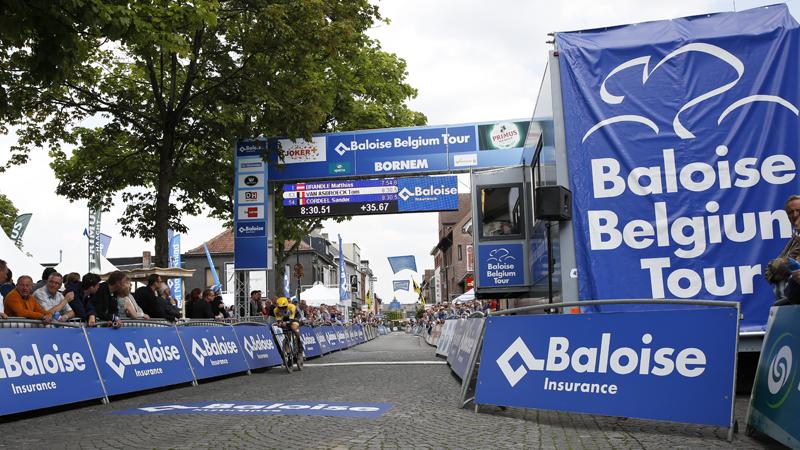 Bornem accueillera à nouveau le Baloise Belgium Tour en 2018
