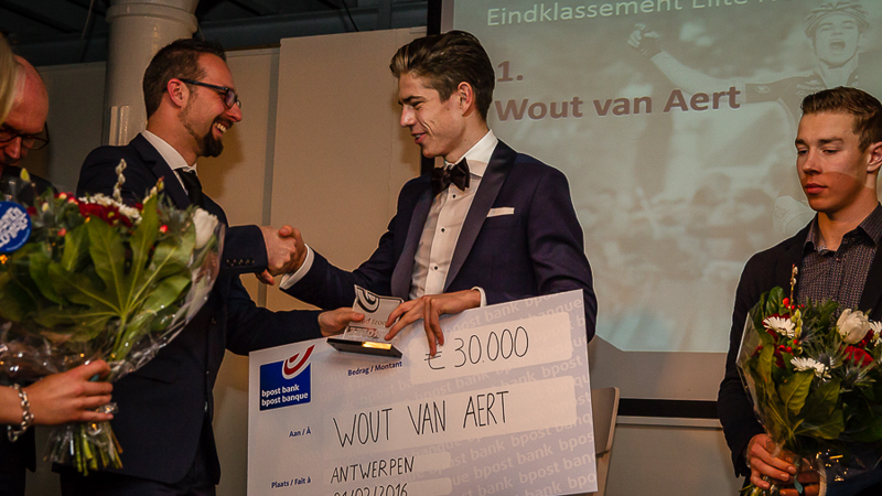 Eindwinnaars bpost bank trofee gehuldigd in Felix Pakhuis (VIDEO)