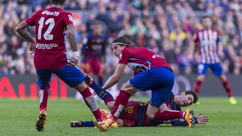 Une semelle sur Messi = 3 matchs (VIDEO)