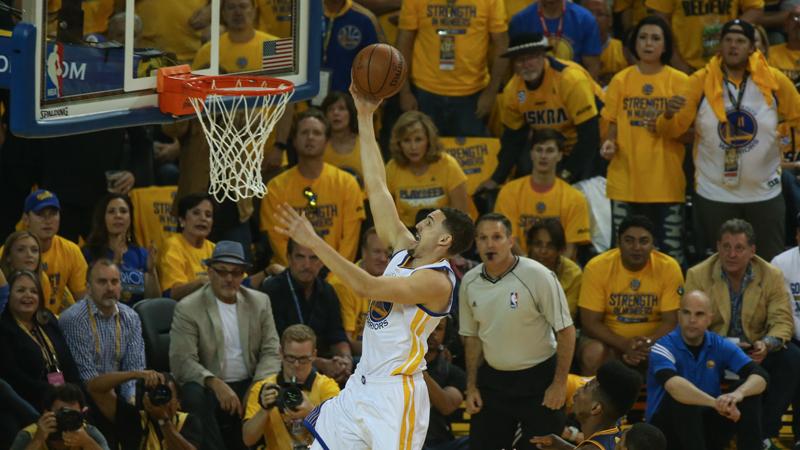 Warriors kunnen ook zonder Curry winnen (VIDEO)