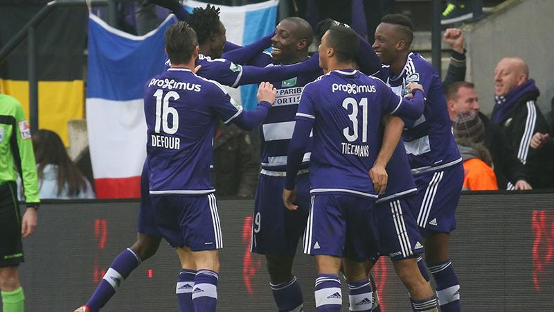 Anderlecht heeft geen overschot tegen Charleroi