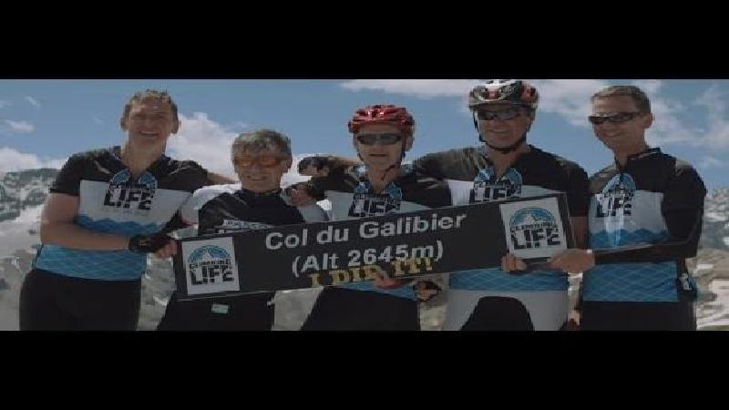 Climbing for Life - Galibier - Moodmovie