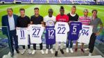 Anderlecht présente ses nouvelles recrues