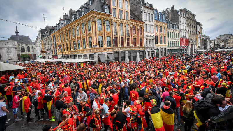 Euro 2016: België - Wales