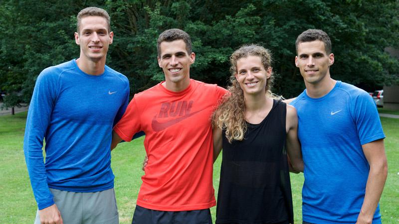 Familie Borlée met 5 gezinsleden naar de Spelen!