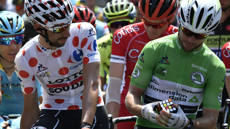 Cavendish adepte du Rubik's Cube (VIDEO)