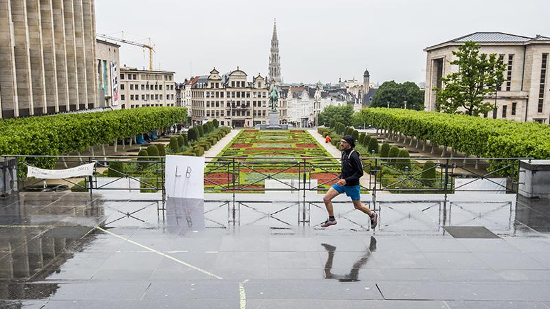 Op loopcitytrip in Brussel: '90 procent is loopterrein'