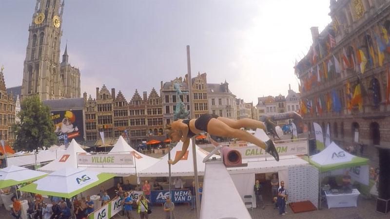 Antwerpen legt de lat hoog, heel hoog...  (VIDEO)