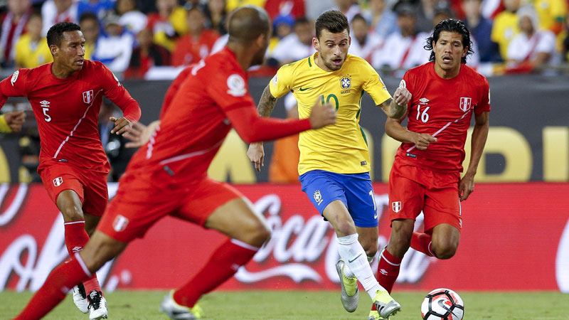 Brazilië out in groepsfase Copa America (VIDEO)