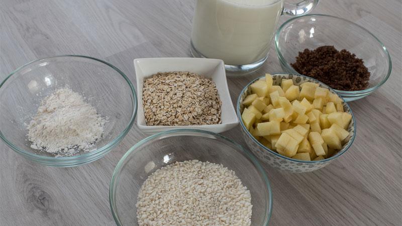 Verantwoorde combinatie van koolhydraten: havermout & rijstpap