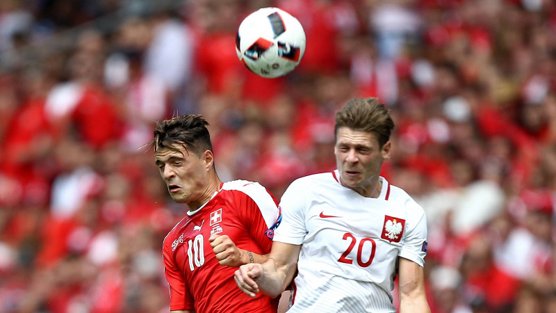 Euro 2016: Zwitserland - Polen
