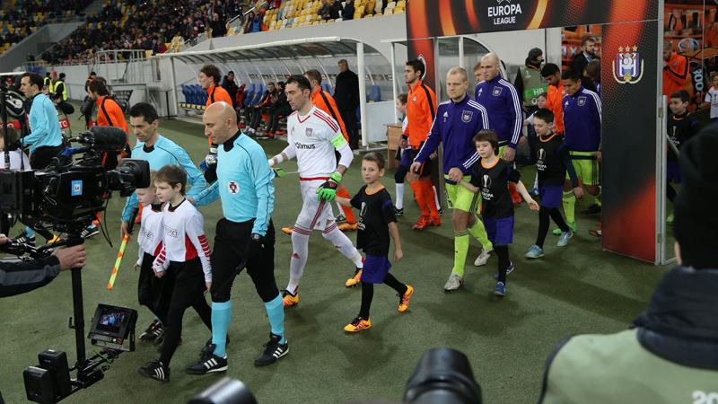 Europa League: Shakhtar Donetsk - Anderlecht