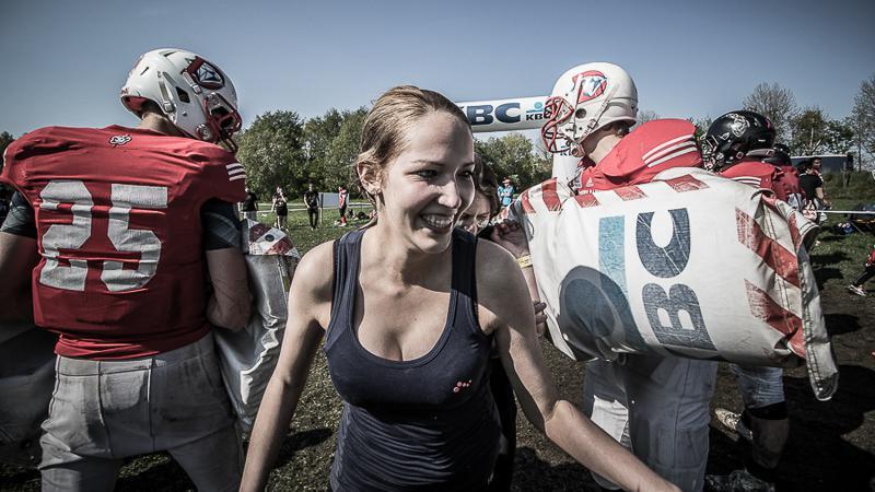 Lente lacht deelnemers Spartacus Run toe